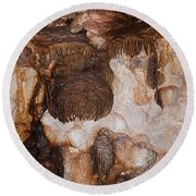 Jewel Cave Jewel Cave National Monument Round Beach Towel