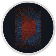 Mobius Band Round Beach Towel