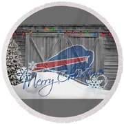 Buffalo Bills Round Beach Towel