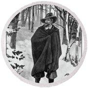 Roger Williams (1603-1683) Round Beach Towel