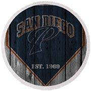 San Diego Padres Round Beach Towel