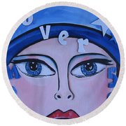 Pikotine Art Round Beach Towel