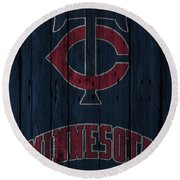 Minnesota Twins Round Beach Towel