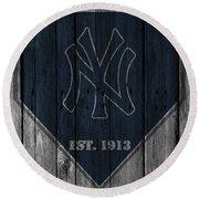 New York Yankees Round Beach Towel