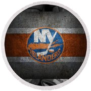 New York Islanders Round Beach Towel