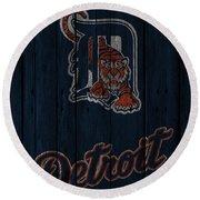 Detroit Tigers Round Beach Towel