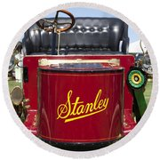 1905 Stanley Model E Round Beach Towel
