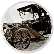 1913 Argo Electric Model B Roadster Coffee Round Beach Towel