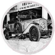 1921 Vauxhall 30/98e Round Beach Towel