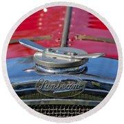 1926 Sunbeam Tiger Hood Emblem Round Beach Towel