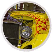 1927 Ford-front View Round Beach Towel