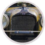 1929 Duesenberg Model J Convertible - Barn Fresh Round Beach Towel