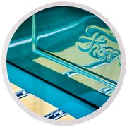 1929 Ford Roadster Pickup Truck -0158c Round Beach Towel