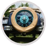 1929 Model-a Roadster 3 Round Beach Towel