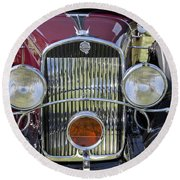 1930 Chrysler Model 77 Round Beach Towel
