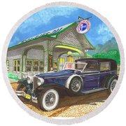 1930 Cord L Towncar Round Beach Towel