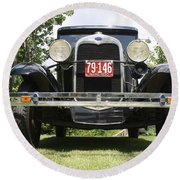 1930 Model-a Tudor 3 Round Beach Towel