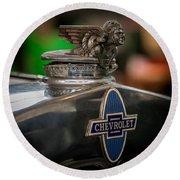 1931 Chevrolet Emblem Round Beach Towel