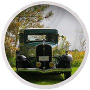 1932 Frontenac 6-70 Sedan  Round Beach Towel