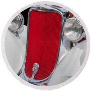 1933 Dodge Sedan Round Beach Towel