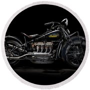 1933 Indian Four Round Beach Towel