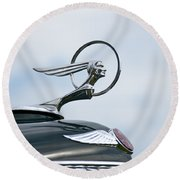 1933 Pontiac Round Beach Towel