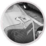 1934 Ford Hot Rod Round Beach Towel
