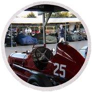 1935 Maserati 4cm Round Beach Towel