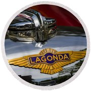 1937 Lagonda Round Beach Towel