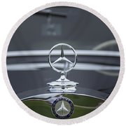 1937 Mercedes Benz Round Beach Towel
