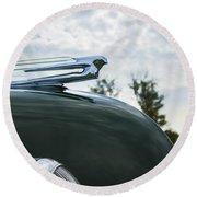 1938 Cadillac Round Beach Towel