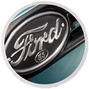 1938 Ford Pickup - 7465 Round Beach Towel