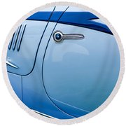 1938 Talbot-lago 150c Ss Figoni And Falaschi Cabriolet Side Door Handle Round Beach Towel