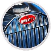 1939 Bugatti Type 57c Round Beach Towel