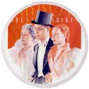 1940 - Arrow Shirts Hans Flato Advertisement - 1940 Round Beach Towel