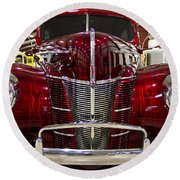 1940 Ford Class W Mild Street Rod Round Beach Towel
