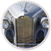 1940 Packard One-sixty Round Beach Towel