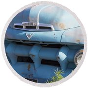 1940's Ford Truck Round Beach Towel