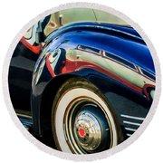 1941 Packard 110 Deluxe -1092c Round Beach Towel