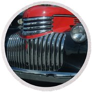 1942 Chevrolet Pickup Truck Grill   # Round Beach Towel