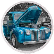 1946 Ford Pickup Round Beach Towel