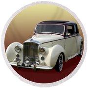 1947 Bentley M K  5   G T X  Round Beach Towel