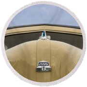 1947 Ford Super Deluxe Wagon Round Beach Towel