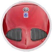 1948 Alfa Romeo Nardi Danese Convertible Round Beach Towel