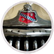 1948 Buick Roadmaster Round Beach Towel