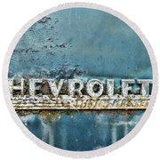 1948 Chevrolet Thrift Master Round Beach Towel