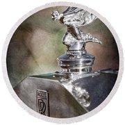 1948 Rolls-royce Hood Ornament - Emblem Round Beach Towel