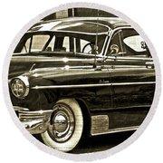 1950 Chevrolet Round Beach Towel