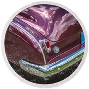 1950 Chevrolet Tailights And Bumper Round Beach Towel