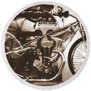 1950 Rotrax-jap Round Beach Towel